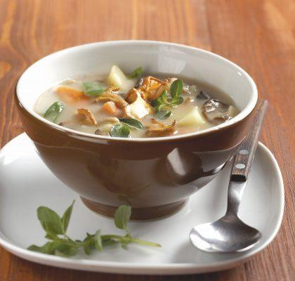 Gobova krompirjeva juha