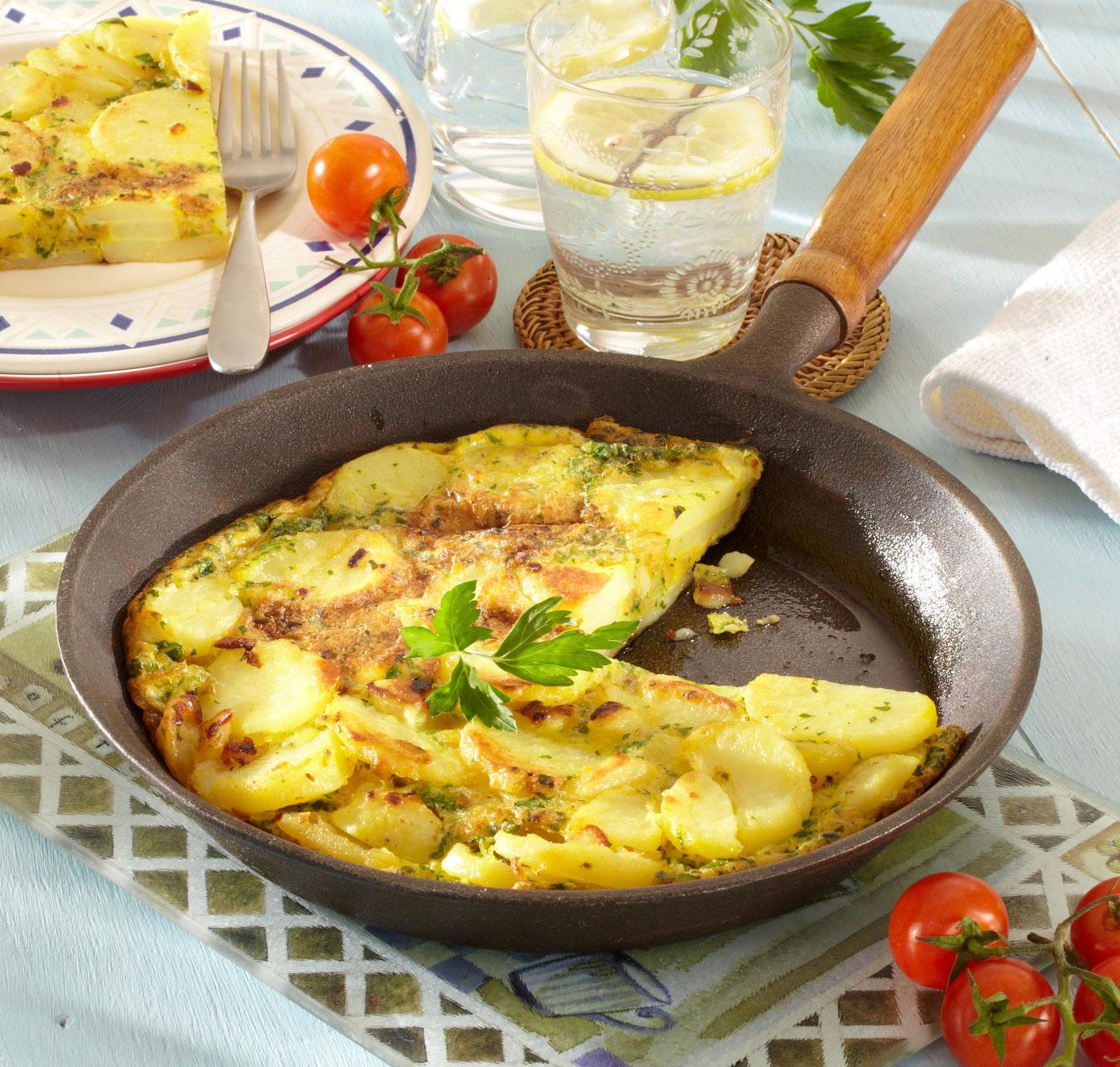Krompirjeva tortilija - tortilla de patates