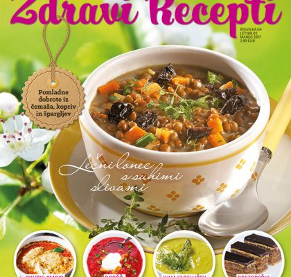 Zdravi Recepti - marec 2017