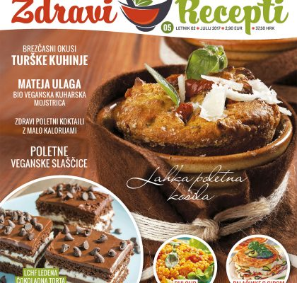 Revija Zdravi Recepti – številka 5, julij 2017