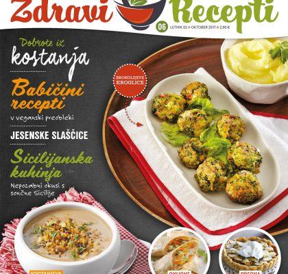 Revija Zdravi recepti oktober 2017