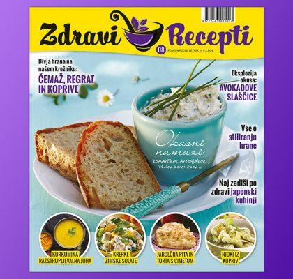 Zdravi recepti februar 2018