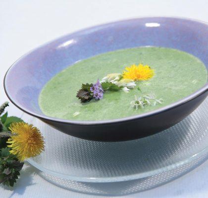 Regratova juha s cvetačo