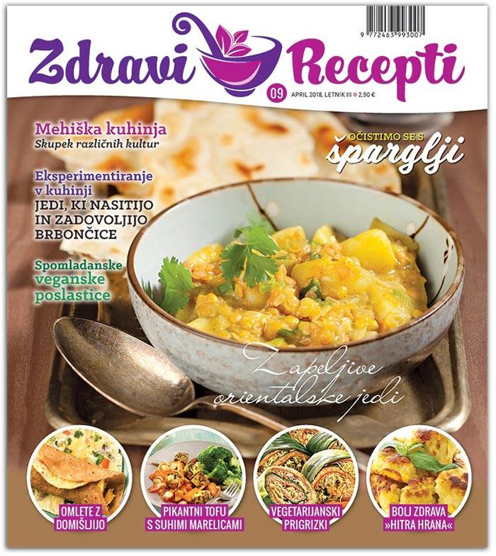 Zdravi Recepti - april, maj 2018