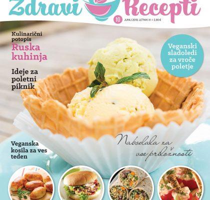 Revija Zdravi Recepti - junij-julij 2018