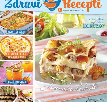 Zdravi recepti oktober 2018