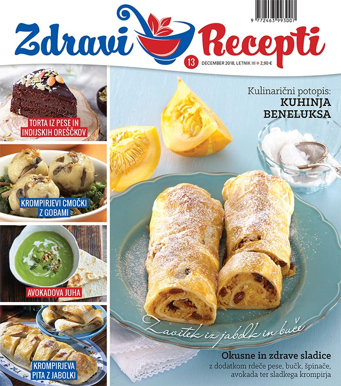 Revija Zdravi recepti - december 2018