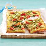 Pica z beluši in lečo
