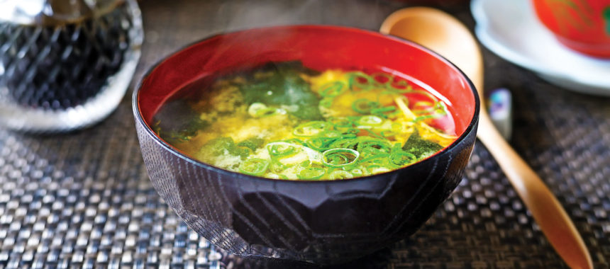 Japonska juha miso