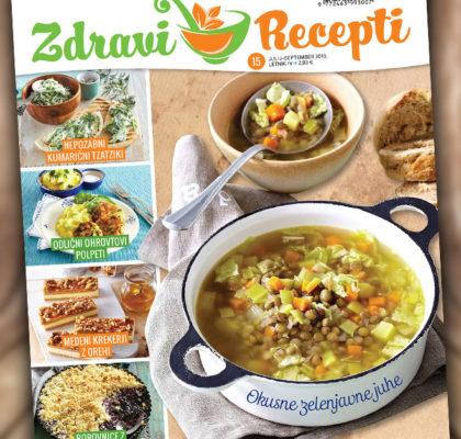 Revija Zdravi Recepti - julij 2019