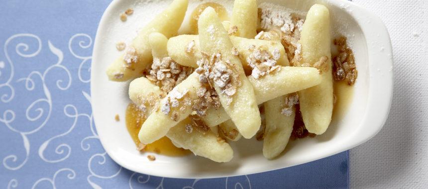 Sladki krompirjevi svaljki