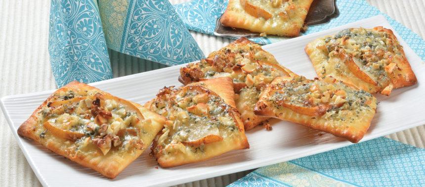 Slane pite s hruško in sirom
